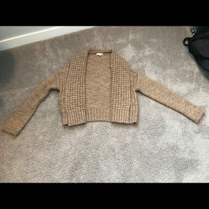 Lands End Canvas Shawl Collar Cardigan Small